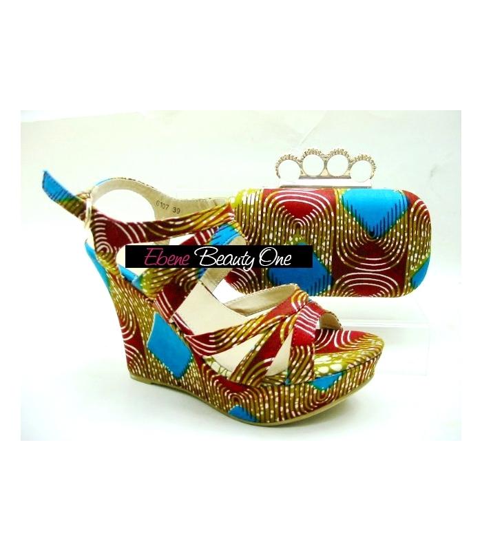 Et Clucht Chaussure Wax Africain En EoreCWBQdx