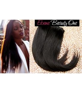 Cheveux naturels vierge 2PCS