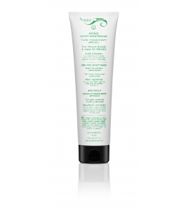Masque avant-shampooing (à la cire d'abeille et à l'huile de ricin) :